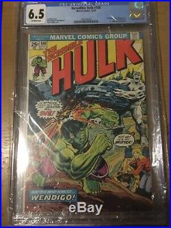 1974 MARVEL Comics THE INCREDIBLE HULK #180 1st Cameo App. WOLVERINE CGC 6.5