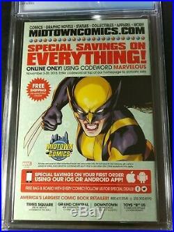 2016 Marvel All-New Wolverine #2 CGC 9.8 WP 1st Honey Badger