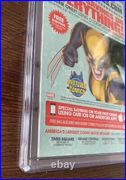 ALL-NEW WOLVERINE # 2 CGC 9.8 X-23 125 LOPEZ VARIANT COVER First Gabby X-Men