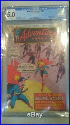 Adventure Comics 381, 1st Supergirl Solo CGC 5.0 Great Comic