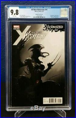 All New Wolverine #19 CGC 9.8 NM/MT Venomized Mattina Incentive 1500 Variant