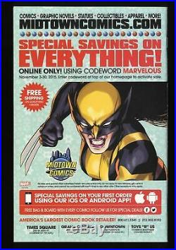 All New Wolverine #1 NM+ 9.6 Local Comic Shop Day Variant! X-23
