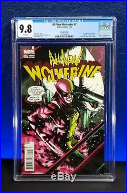 All New Wolverine #2 125 CGC 9.8 Incentive Variant 1st Gabby Honey Badger