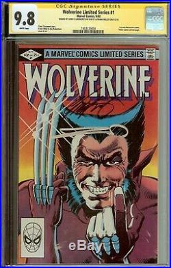 Amazing Wolverine #1 Mini Series CGC 9.8 Signed Frank Miller Chris Claremont