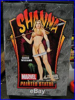 BOWEN DESIGNS Marvel AP SHANNA SHE- Devil STATUE X-MEN KAZAR Sideshow FIGURINE