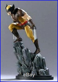 Bowen Designs Wolverine Mini Brown Costume X-Men Marvel Comics Statue
