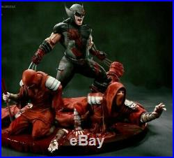 Custom Wolverine Ninjas Statue Sculpture Art Nt XM Sideshow Prime 1 Marvel X-Men