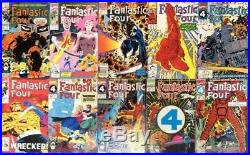 FANTASTIC FOUR #300 -400 100 CONSECUTIVE Marvel Comic Books Galactus WOLVERINE