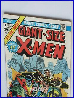 GIANT SIZE X-MEN # 1 US MARVEL 1975 1st app NEW X MEN, 2nd full WOLVERINE VFN