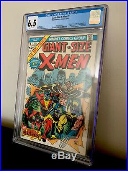 Giant Size X-Men #1 CGC 6.5 1st Storm, Nightcrawler, Colossus, 2nd Wolverine