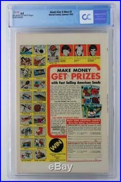 Giant-Size X-Men #1 CGC 6.5 FN+ Marvel 1975 1st App New X-Men! 2nd Wolverine
