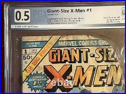 Giant Size X-Men #1 PGX. 5 1st App New X-Men, Storm. 2nd Full App Wolverine