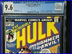 HIGH GRADE CGC WOLVERINE LOT Hulk 180 Hulk 181 Hulk 182 Giant Size X-Men #1