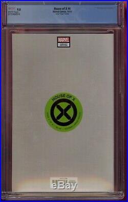 House Of X #4 Cgc 9.8 Virgin Variant 1100 Silva 2019 Wolverine Comic Kings