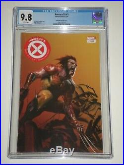 House of X 1 (2019 Marvel) CGC Graded 9.8 Dell'Otto Variant Wolverine Cover