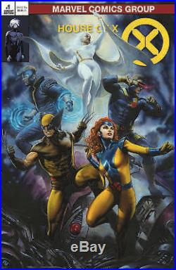 House of X & Powers of X Virgin & Classic Trade 4-Pack issue #1