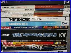 Huge Graphic Comic Novel lot image marvel dark horse punisher Wolverine