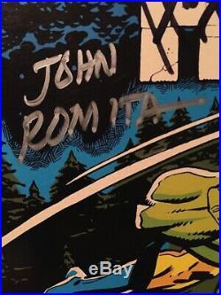Hulk vs Wolverine 180 181 signed Len Wein Herb Trimpe John Romita Sr Roy Thomas