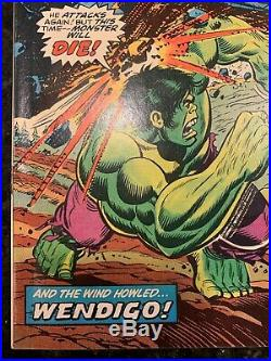 Incredible Hulk #180 (1974, Marvel) High Grade 1st Cameo Appearance of Wolverine