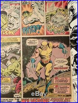 Incredible Hulk 180 1st App of Wolverine Key Marvel Comic 7.0 F/VF 7.5 VF
