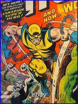 Incredible Hulk 181 CGC 1.8 1st full App. Of Wolverine MVS intact Wendigo Enjoy