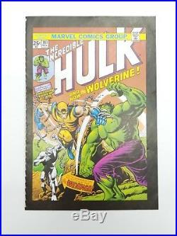 Incredible Hulk 181 Mini Promo Comic 2007 Rare 1st Appearance of Wolverine 6x4