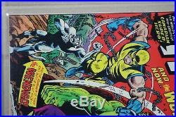 Incredible Hulk #181 PGX 7.0 (11/1974) 1st Wolverine Green-No Marvel Value Stamp