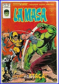 Incredible Hulk 181 Spanish Edition First Wolverine