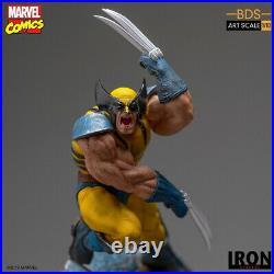 Iron Studios 1/10 Marvel Comics X-Men Wolverine Male Action Figure Statue Toy