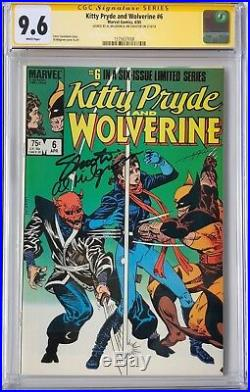KITTY PRYDE AND WOLVERINE 1-6 (1984) CGC Comic Book Lot Signed x2 RARE