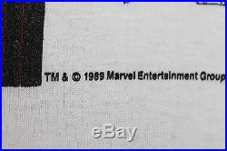 L NOS vtg 80s 1989 WOLVERINE marvel comic t shirt medium large 21.147
