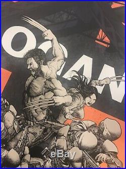 Logan Movie Poster John Guydo Mondo Wolverine X23 Xmen Marvel Comic Screen Print