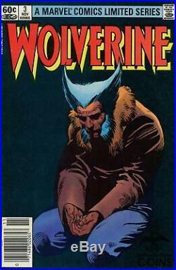 Lot of 4 Wolverine #1-4 Comic Book Series Set (VF)