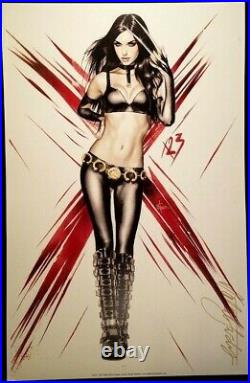 MARVEL Comics X-23 Signed Print Natali Sanders WOLVERINE X-MEN X-FORCE DEADPOOL