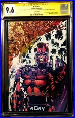 MARVEL Comics X-MEN #1 CGC SS 9.6 Foil X3 Jim Lee Williams Claremont WOLVERINE