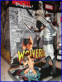 MARVEL ORIGINS WOLVERINE STATUE NEW! DIAMOND SELECT X-MEN BUST Bust Figure
