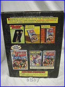 MARVEL Replicas GIANT SIZE X-MEN 3D-POSTER FIRST APPEARANCE COMIC COVER STATUE