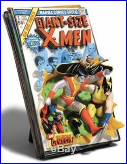 MARVEL Replicas WOLVERINE STORM COLOSSUS X-MEN 3D-POSTER COMIC STATUE Bust Cover