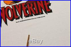 M NOS vtg 80s 1988 WOLVERINE marvel comic t shirt 44.155