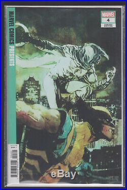 Marvel Comics Presents #4 150 Sienkiewicz Variant Wolverine Moon Knight Spider