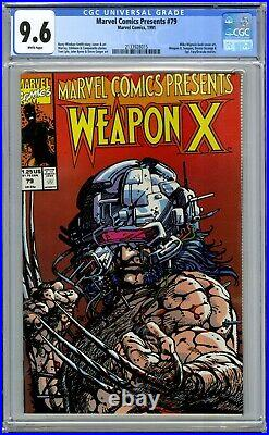 Marvel Comics Presents 79 Cgc 9.6 Wolverine 1 Weapon X-men 1991 2133928015 White