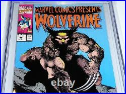 Marvel Comics Presents #85 CGC Universal Grade Comic 9.8 Wolverine Speedball