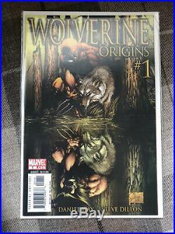 Marvel Comics Wolverine Origins Run #1-50 & Annual 1st App Daken Great Condition