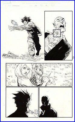 Marvel Wolverine 45 Page 5 Pg Original Comic Art Artwork Humberto Ramos 2006