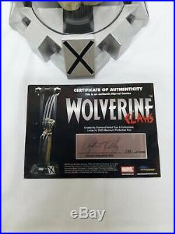 Marvel Wolverine Claws Life Size Skeletal Prop Replica Statue X-men #733/2500