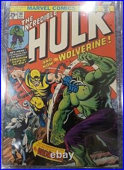 Marvel's Incredible Hulk 181 Comic 1st Wolverine Original & Stunning