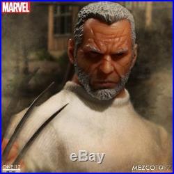 Mezco Toyz ONE12 Old Man Logan Marvel Wolverine Comic Books Action Figure 76533