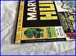 Mighty World Of Marvel #198 Hulk 1st Wolverine Rare UK 1976 Comic Book