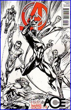 NEW AVENGERS (2012) #1 Marvel Now! J. Scott Campbell SKETCH Cover 1150