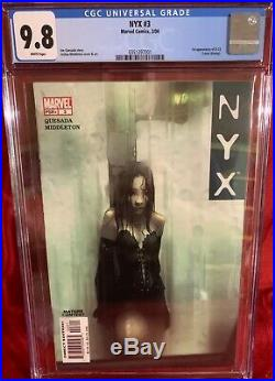 NYX #23 CGC 9.8 Grade 1st Appearance X-23 (Laura Kinney) White Pages